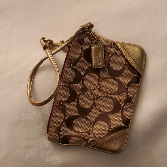COACH Wristlet Coin Purse!